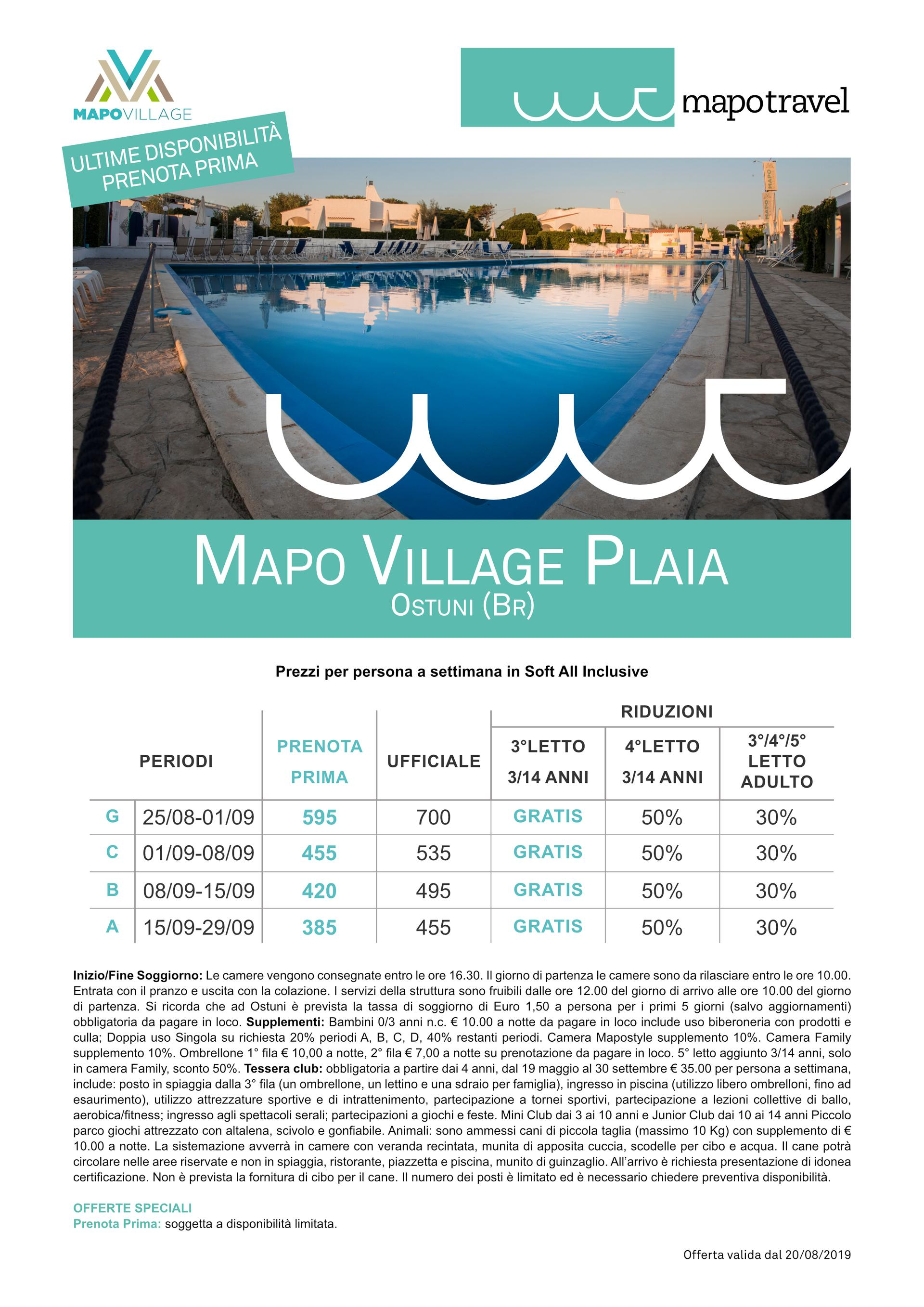 MAPO VILLAGE PLAIA